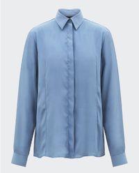 Koszula z jedwabiem