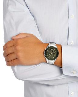 Zegarek Drexler Silver/Green