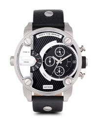 Zegarek Little Daddy Black/Silver