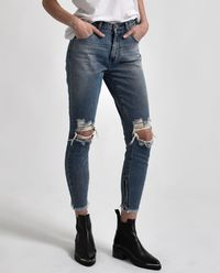 Jeansy High Waist Blue Society Freebirds