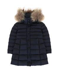Płaszcz z futrem 6-14 lat