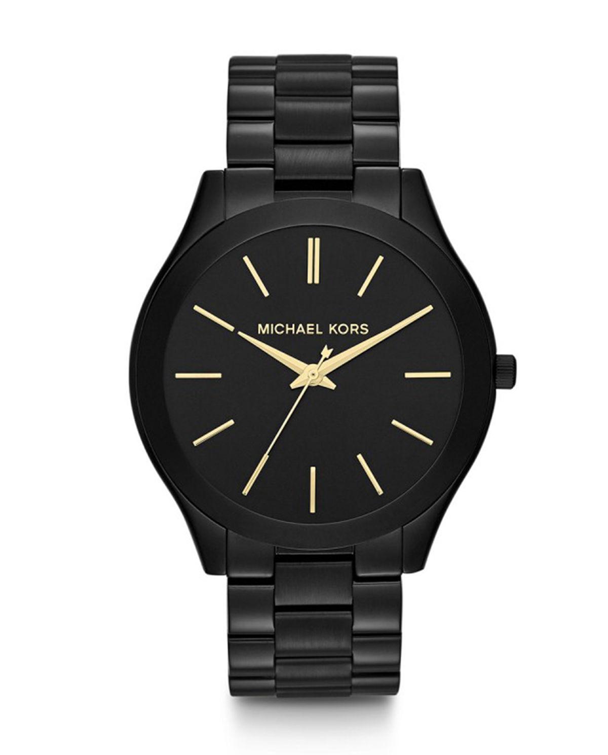 30b0eaa723700 Zegarek slim runway black MICHAEL KORS – Kup Teraz! Najlepsze ceny i ...