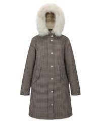Kabát s kožešinou Ankara