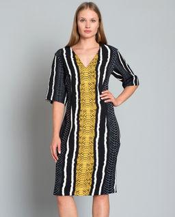 Sukienka w zwierzęcy Print