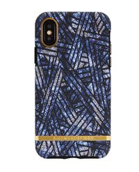 iPhone X Case Blue Denim