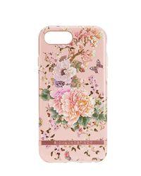 iPhone 6, 6s, 7, 8 Case Peonies & Butterflies