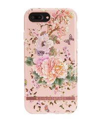 iPhone 6+, 6s+, 7+, 8+ Case Peonies & Butterflies