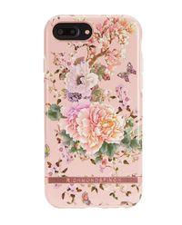 iPhone 6+, 6s+, 7+, 8+ Case Peonies & Butterflies