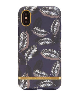 iPhone X Case Botanical Leaves