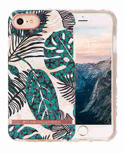 iPhone X Case Tropical Leaves