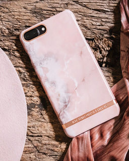 iPhone 6+, 6s+, 7+, 8+ Case Pink Marble