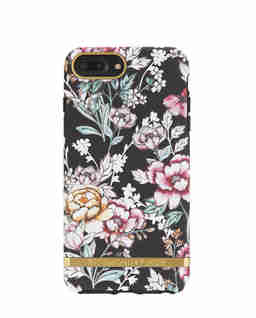 iPhone 6, 6s, 7, 8 Case  Black Floral