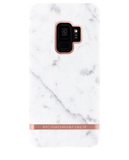 Samsung S9+ White Marble Case