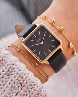 Zegarek La Garconne Rose Gold Black