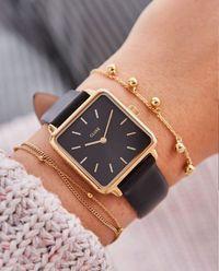 Zegarek La Garconne Gold Black