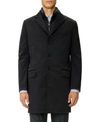 Płaszcz z odpinaną kamizelką