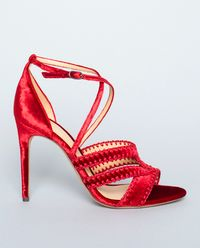 Sandały na szpilce Flame