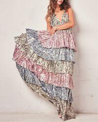 Sukienka z jedwabiu Clarissa