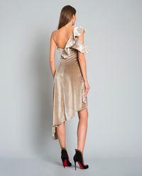 Sukienka Devoré Wrap