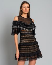 Sukienka Stripe Panelled