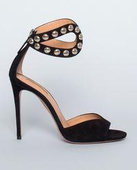 Sandały z zamszu