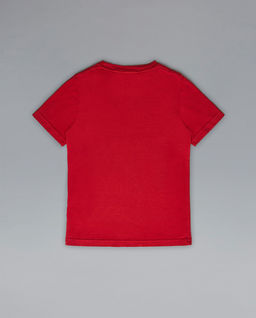 Czerwony t-shirt 4-14 lat
