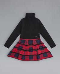 Sukienka z golfem 8-16 lat