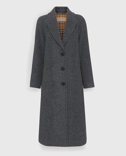 Płaszcz z wełną
