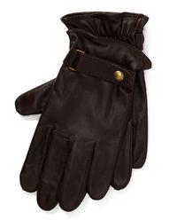 Rękawiczki ze skóry
