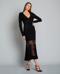 Dzianinowa sukienka maxi