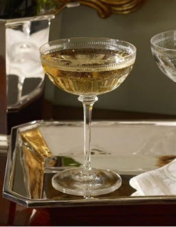 Kieliszek kryształowy do szampana Dagny