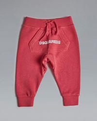 Spodnie dresowe różowe 0 - 3 lata