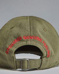 Oliwkowa czapka z daszkiem