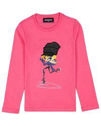 Różowa bluzka 4-12 lat