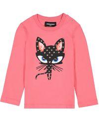 Różowa bluzka 0-3 lata