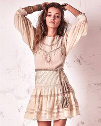 Sukienka z jedwabiu Mallory