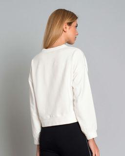 Bluza z koronkową aplikacją