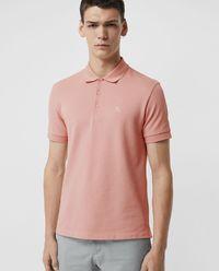 Koszulka polo różowa