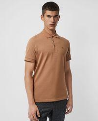 Koszulka polo beżowa