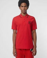 Koszulka polo czerwona