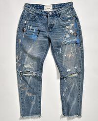 Spodnie Worn Blue Artiste