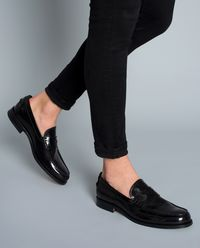 Skórzane loafery