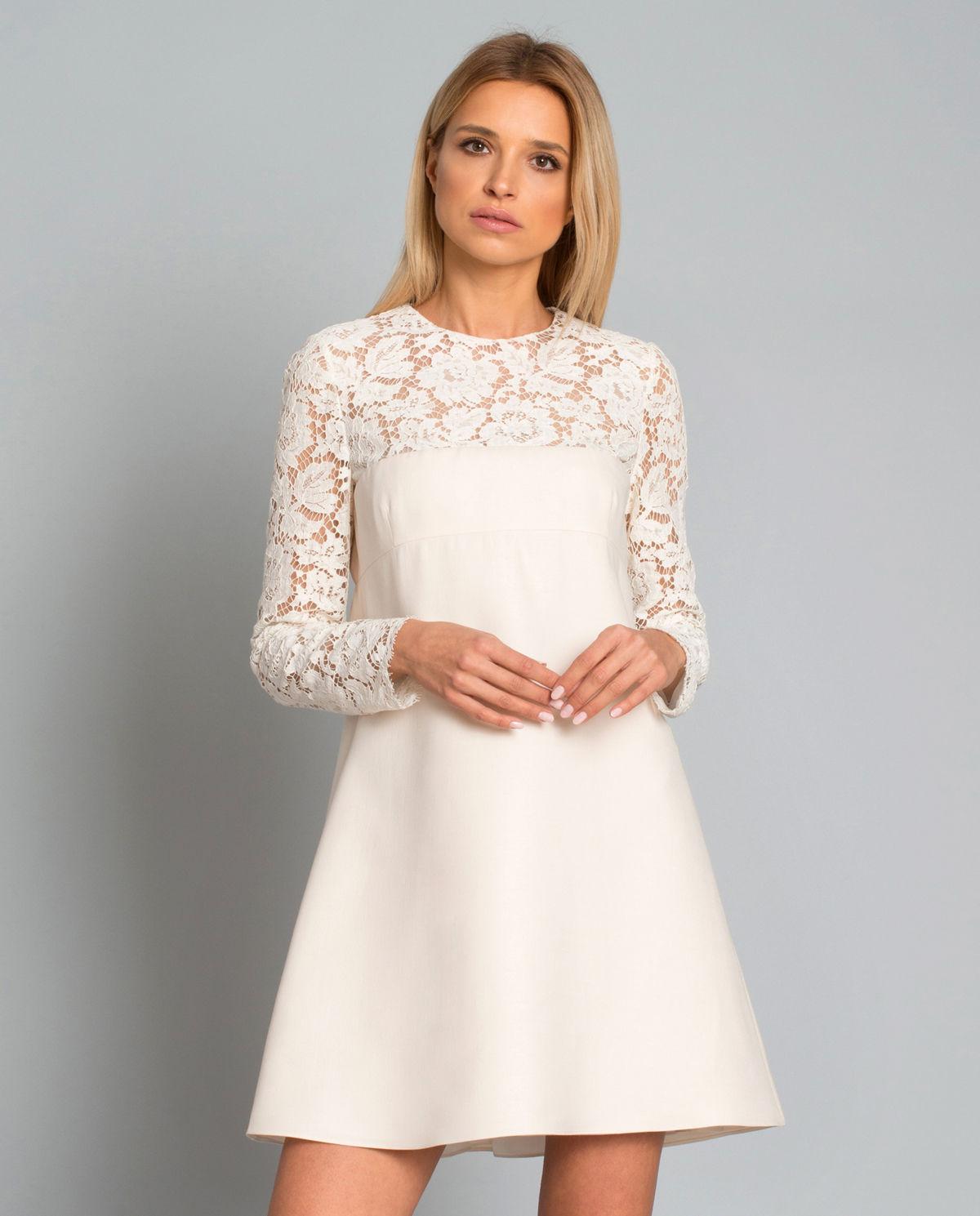 218d651b6d7ef1 Sukienka koronkowa z jedwabiem VALENTINO – Kup Teraz! Najlepsze ceny i  opinie! Sklep Moliera2.com