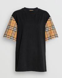 t-shirt Vintage czarny