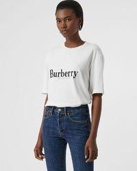 T-shirt biały z logo