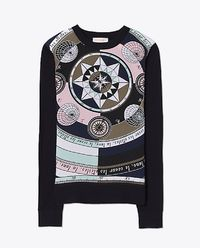 Wełniany sweter z jedwabiem