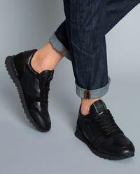 Sneakersy Camouflage Noir