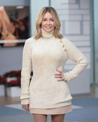 Prążkowany sweter