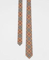 Krawat z jedwabiu z logo