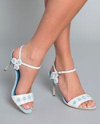 Zamszowe sandały